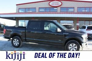 2017 Ford F-150 4WD SUPERCREW XLT Accident Free,  A/C,  Accident