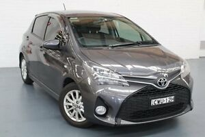2014 Toyota Yaris NCP131R ZR Grey 4 Speed Automatic Hatchback Glendale Lake Macquarie Area Preview