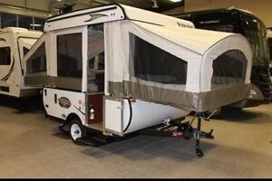 Viking forest river tent trailer
