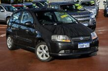 2008 Holden Barina TK MY08 Black 5 Speed Manual Hatchback Cannington Canning Area Preview