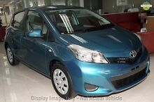 2011 Toyota Yaris NCP131R YRS Silver 4 Speed Automatic Hatchback Balcatta Stirling Area Preview