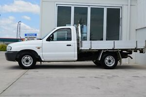 2002 Mazda B2500 Bravo DX White 5 Speed Manual Cab Chassis South Maitland Maitland Area Preview