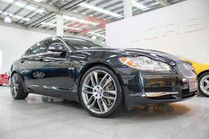 2008 Jaguar XF 4.2 SV8 Supercharged Black 6 Speed Automatic Sedan Port Melbourne Port Phillip Preview