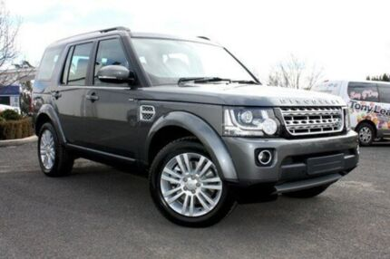 2015 Land Rover Discovery 4 Series 4 L319 MY15 SDV6 HSE Corris Grey 8 Speed Auto Seq Sportshift Wago Orange Orange Area Preview