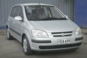 2005 Hyundai Getz TB MY05 GL Silver 5 Speed Manual Hatchback Blair Athol Port Adelaide Area Preview