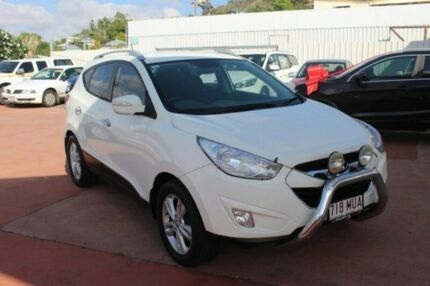 2010 Hyundai ix35 LM Elite AWD White 6 Speed Sports Automatic Wagon Townsville Townsville City Preview