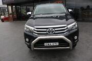 2015 Toyota Hilux GUN126R SR5 Double Cab Black 6 Speed Sports Automatic Utility Smeaton Grange Camden Area Preview