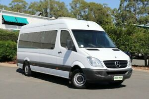 2009 Mercedes-Benz Sprinter NCV3 MY09 315CDI High Roof ELWB White 5 Speed Automatic Van
