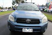 2006 Toyota RAV4 ACA33R Cruiser L Blue 4 Speed Automatic Wagon West Footscray Maribyrnong Area Preview