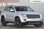 2012 Jeep Grand Cherokee WK MY2012 JET Silver 5 Speed Sports Automatic Wagon Liverpool Liverpool Area Preview
