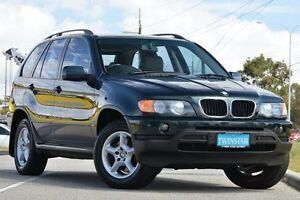 2002 BMW X5 E53 3.0I Green 5 Speed Auto Steptronic Wagon Malaga Swan Area Preview