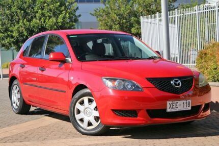 2005 Mazda 3 BK10F1 Neo Red 4 Speed Sports Automatic Hatchback Wayville Unley Area Preview