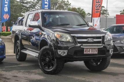 2010 Ford Ranger PK XLT Crew Cab Black 5 Speed Automatic Utility Aspley Brisbane North East Preview
