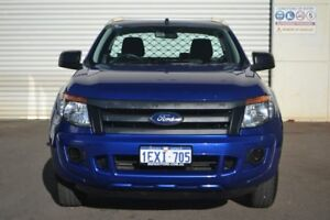 2015 Ford Ranger PX XL 4x2 Blue 6 Speed Manual Cab Chassis