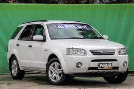 2009 Ford Territory SY Ghia AWD White 6 Speed Sports Automatic Wagon Ringwood East Maroondah Area Preview