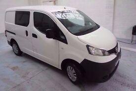 NISSAN NV200 1.5 DCI Crew Van/Double Cab - *5 Seats*1 Owner*FSH*Reversing Camera*Bluetooth*AUX*
