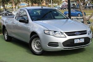 2012 Ford Falcon FG MkII EcoLPi Ute Super Cab Silver 6 Speed Sports Automatic Utility Berwick Casey Area Preview