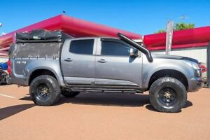 2014 Holden Colorado RG MY15 LS Crew Cab Grey 6 Speed Sports Automatic Utility