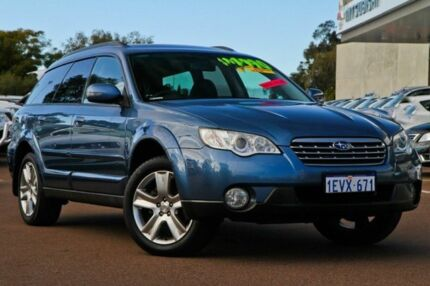 2008 Subaru Outback B4A MY08 AWD Blue 4 Speed Auto Seq Sportshift Wagon Cannington Canning Area Preview