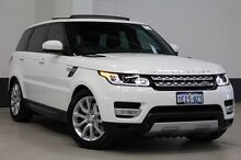 2013 Land Rover Range Rover LW Sport 3.0 SDV6 HSE White 8 Speed Automatic Wagon Bentley Canning Area Preview