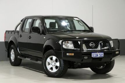 2014 Nissan Navara D40 RX Silverline SE (4x4) Black 6 Speed Manual Dual Cab Pick-up Bentley Canning Area Preview