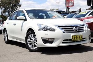 2014 Nissan Altima L33 ST X-tronic White 1 Speed Constant Variable Sedan Liverpool Liverpool Area Preview