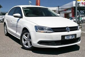 2014 Volkswagen Jetta 1B MY14 118TSI DSG Comfortline White 7 Speed Sports Automatic Dual Clutch Keysborough Greater Dandenong Preview