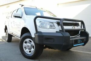 2013 Holden Colorado RG LX (4x4) White 6 Speed Automatic Crew Cab Pickup Ashmore Gold Coast City Preview