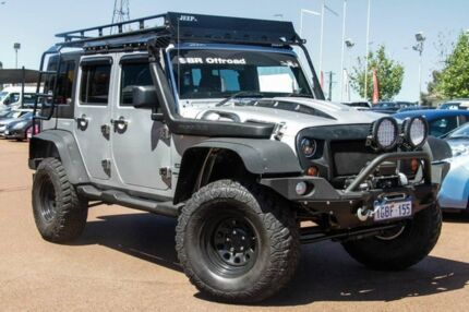 2012 Jeep Wrangler JK MY2012 Unlimited Sport Silver 6 Speed Manual Softtop