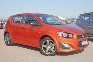 2016 Holden Barina TM MY16 RS Orange 6 Speed Manual Hatchback Pearsall Wanneroo Area Preview