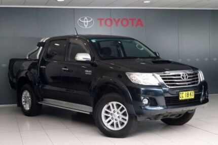 2014 Toyota Hilux KUN26R MY14 SR5 Double Cab Metal Storm 5 Speed Automatic Utility