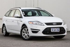 2013 Ford Mondeo MC LX PwrShift TDCi White 6 Speed Sports Automatic Dual Clutch Wagon East Rockingham Rockingham Area Preview