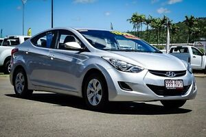 2011 Hyundai Elantra MD Active Sleek Silver 6 Speed Sports Automatic Sedan Garbutt Townsville City Preview