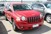 2007 Jeep Compass MK Sport CVT Auto Stick Burgundy 6 Speed Constant Variable Wagon Heatherton Kingston Area Preview