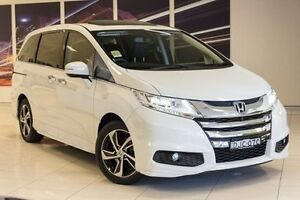 2016 Honda Odyssey RC MY16 VTi-L White 7 Speed Constant Variable Wagon Blacktown Blacktown Area Preview