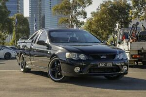 2007 Ford Falcon BF Mk II XR6 Ute Super Cab Black 5 Speed Manual Utility Docklands Melbourne City Preview
