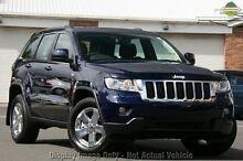 2012 Jeep Grand Cherokee WK MY2012 Laredo Blue 5 Speed Sports Automatic Wagon Osborne Park Stirling Area Preview