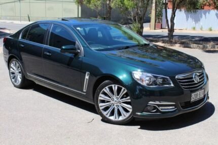 2015 Holden Calais VF MY15 V Green 6 Speed Sports Automatic Sedan Thebarton West Torrens Area Preview