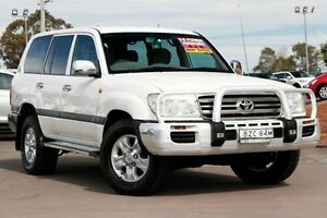 2006 Toyota Landcruiser UZJ100R GXL White 5 Speed Automatic Wagon McGraths Hill Hawkesbury Area Preview