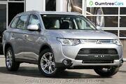 2014 Mitsubishi Outlander ZJ MY14.5 ES 4WD Silver 6 Speed Constant Variable Wagon Burnie Area Preview