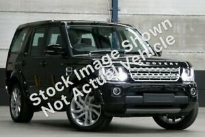 2015 Land Rover Discovery Series 4 L319 MY16 SDV6 HSE Santorini Black 8 Speed Sports Automatic Wagon Liverpool Liverpool Area Preview