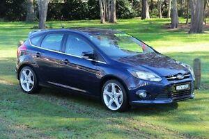 2011 Ford Focus LW Titanium Blue 6 Speed Automatic Hatchback Port Macquarie Port Macquarie City Preview