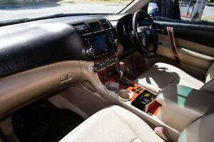 2010 Toyota Kluger GSU45R Grande AWD Sandstone 5 Speed Sports Automatic Wagon