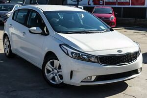 2016 Kia Cerato YD MY17 S Snow White Pearl 6 Speed Sports Automatic Hatchback Blacktown Blacktown Area Preview