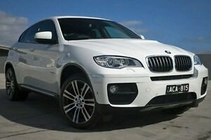 2014 BMW X6 E71 LCI MY1213 xDrive30d Coupe Steptronic White 8 Speed Sports Automatic Wagon Nunawading Whitehorse Area Preview