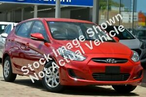 2013 Hyundai Accent RB Active Red 4 Speed Sports Automatic Hatchback Slacks Creek Logan Area Preview