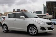 2016 Suzuki Swift FZ MY15 GL Navigator White 4 Speed Automatic Hatchback Northbridge Perth City Area Preview