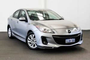 2012 Mazda 3 BL 11 Upgrade Diesel Silver 6 Speed Manual Sedan