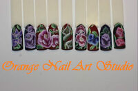 Formation :peinture sur les ongles--- one stroke nail painting