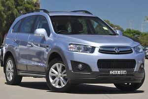 2014 Holden Captiva CG MY15 7 LT (AWD) Lake Blue 6 Speed Automatic Wagon Greenacre Bankstown Area Preview